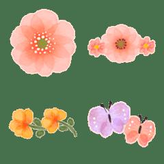 ♡つなげて可愛い✳︎お花の絵文字♡