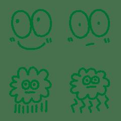 グリーン絵文字