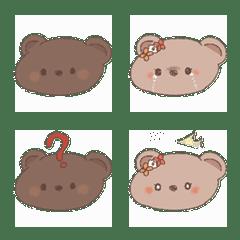 Cute cookie bear