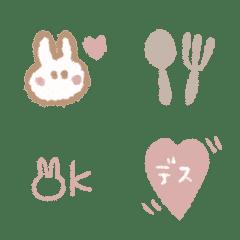 ○ピンクブラウン絵文字○
