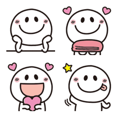 大人可愛い♡シンプルな絵文字6