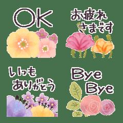 ♡大人の女性✳︎お花のミニスタンプ♡