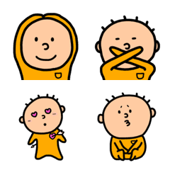 オレンジのぼく絵文字2