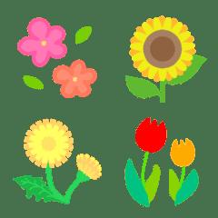 いろんなお花の絵文字