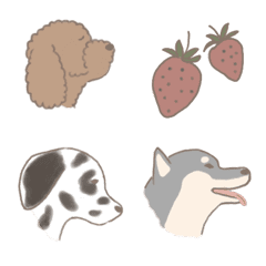 ほんわかわんこ 犬と日常の絵文字3