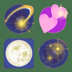 キラキラ銀河の絵文字