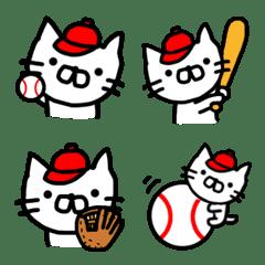 野球好きなネコ