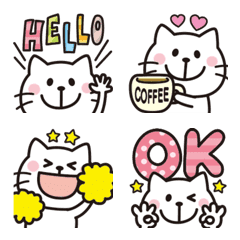 大人可愛い♡ネコの絵文字6