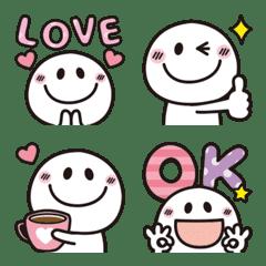 大人可愛い♡シンプルな絵文字7