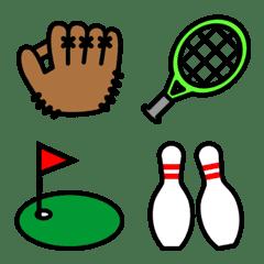 スポーツ用品絵文字