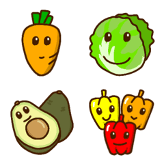 スマイル【野菜】の絵文字