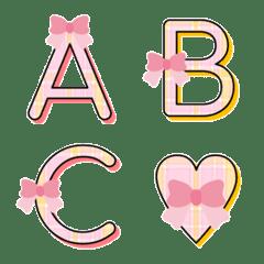 ribbon & check emoji3
