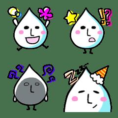 雨の妖精 あめちゃん シンプル カラフル